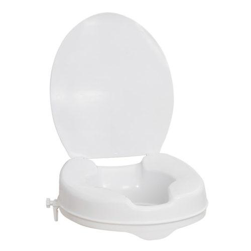 AquaSense 2″ Raised Toilet Seat