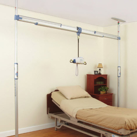 Easytrack Tension Mounted Ceiling Lift System Portable