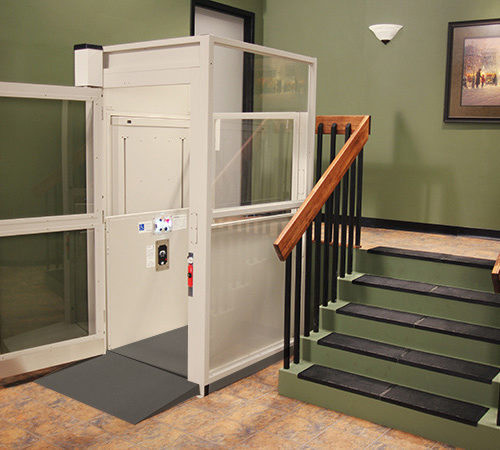 Bruno Enclosure Vertical Platform Lift